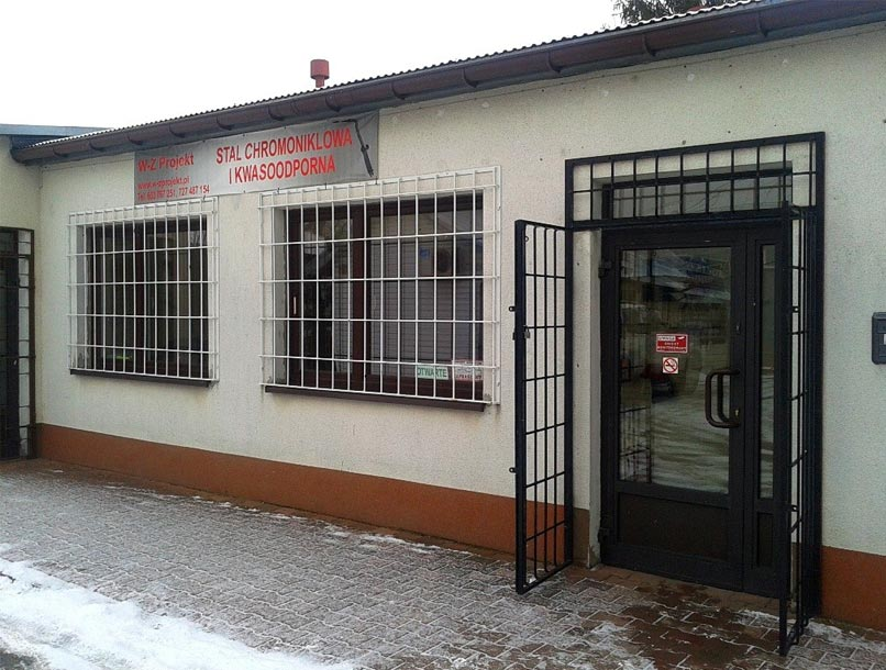 W-Z Projekt, Sklep wyrobów ze stali oraz sprzedaż gazów technicznych:<br/> 36-200 Brzozów, ulica Schodowa 10 (obok sklepu Instalator)<br/> <br/> Sprzedaż gazów technicznych (po wcześniejszym umówieniu telefonicznym):<br/> Turze Pole 173 (podkarpackie)
