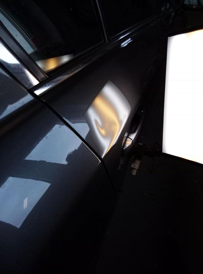 Przykłady wykonanych napraw wgnieceń karoserii -