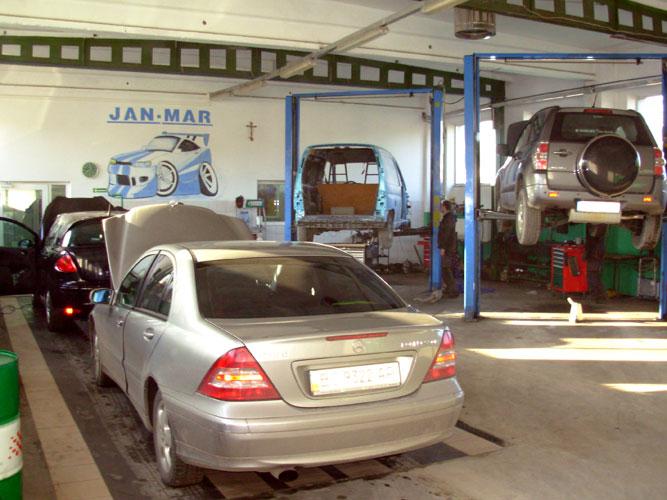 Serwis samochodowy - JAN-MAR