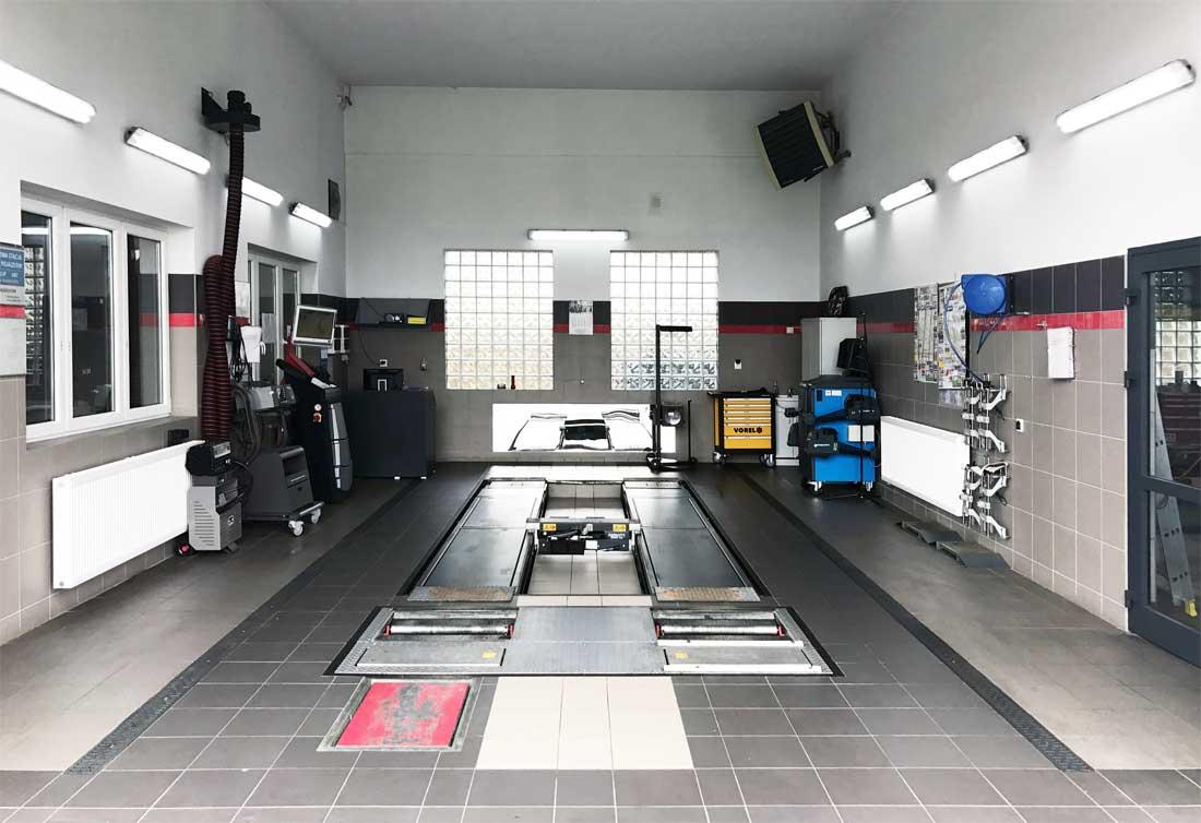 Stacja kontroli pojazdów - REWI